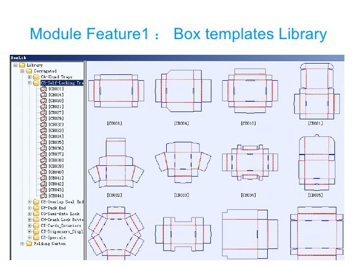 Packmage CAD: carton packaging box template design software