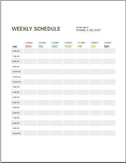 Work Log Template. Weekly Work Schedule Template Daily Work Log ...