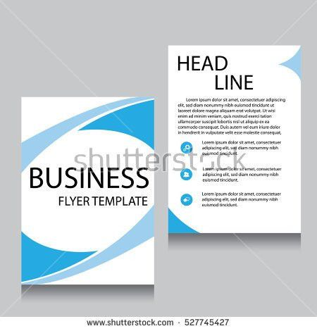 Brochure Cover Inner Pages Design Template Stock Vector 322673483 ...