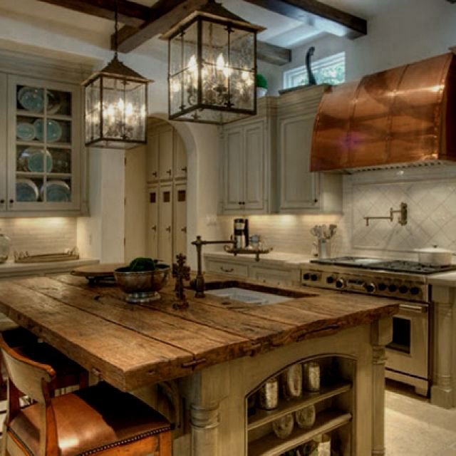 Rustic Kitchens That Draw Inspiration | Girl Blog, Rustic Kitchen And  Rustic Feel