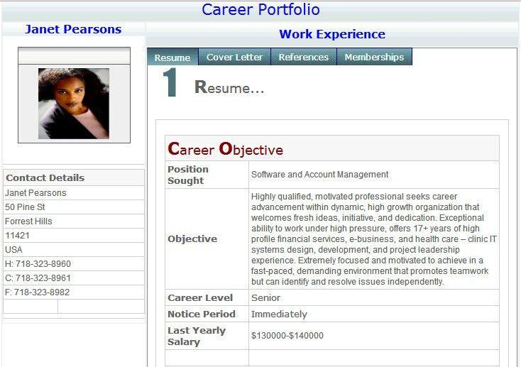 Resume Builder - Free Online Professional Resume Profile | visit ...