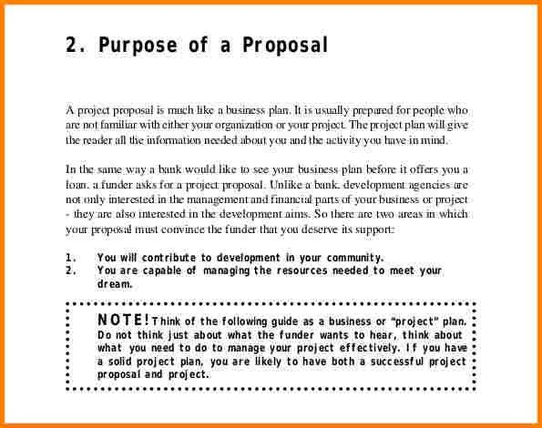 9+ project proposal template | quote templates