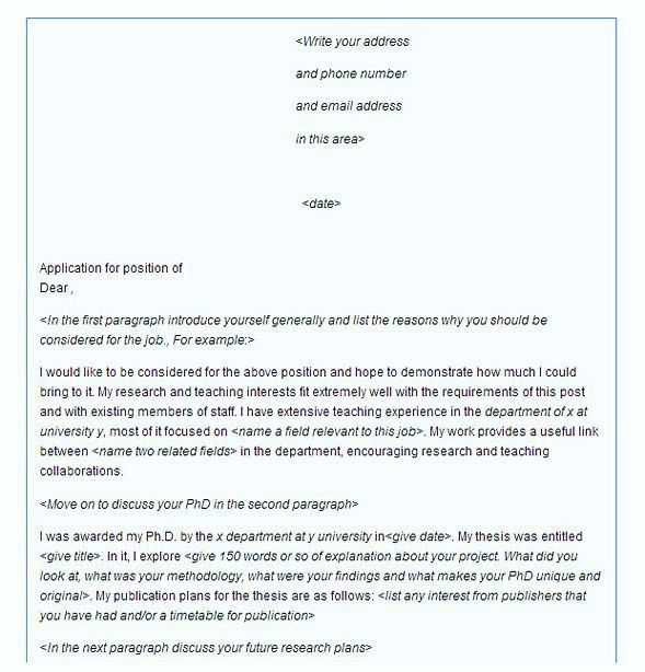 how to write the perfect cover letter for a job 12 tags examples ...