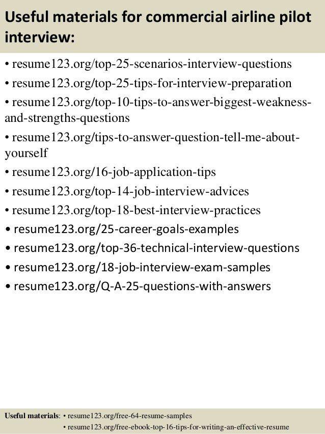 sample airline pilot resume professional pilot resume template