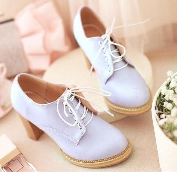 Cute students heels Cute Kawaii Harajuku Fashion Clothing ...
