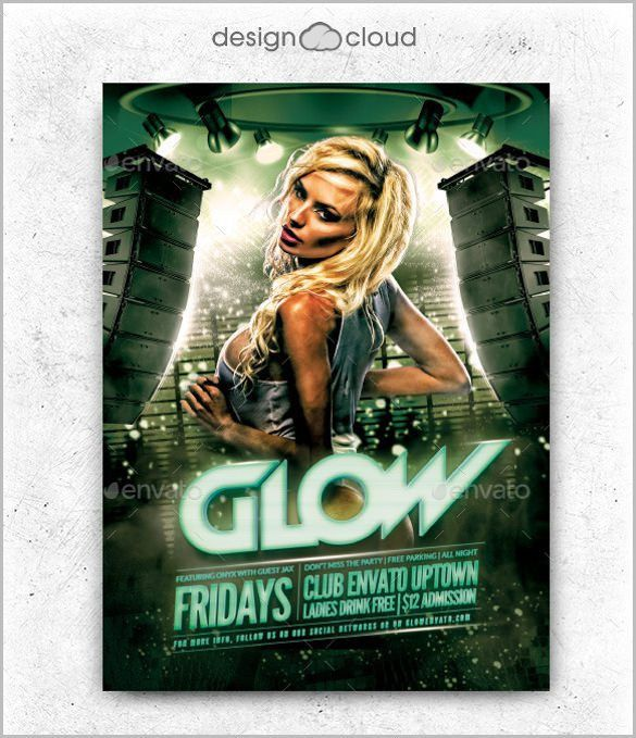 club flyer template - Template