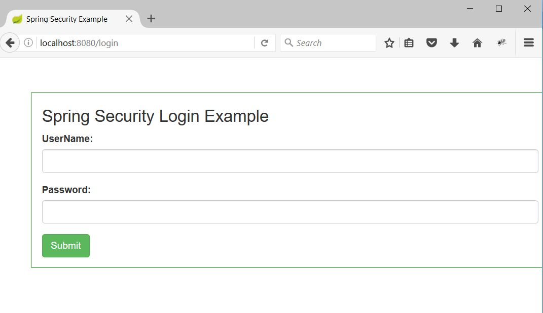 Spring Boot Security Custom Login Form Example - DevGlan