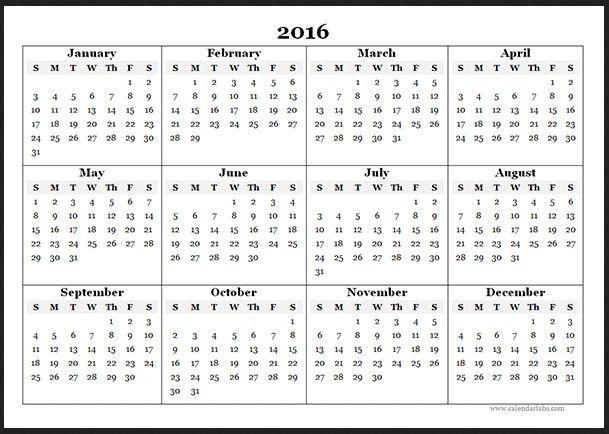 Calendar Template Word 2016 | Calendar Picture Templates