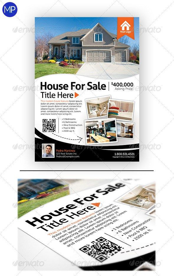 Real Estate Flyer | Real estate flyers, Real estate and Flyer template