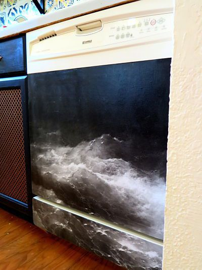 diy magnetic dishwasher cover – craftsfamship