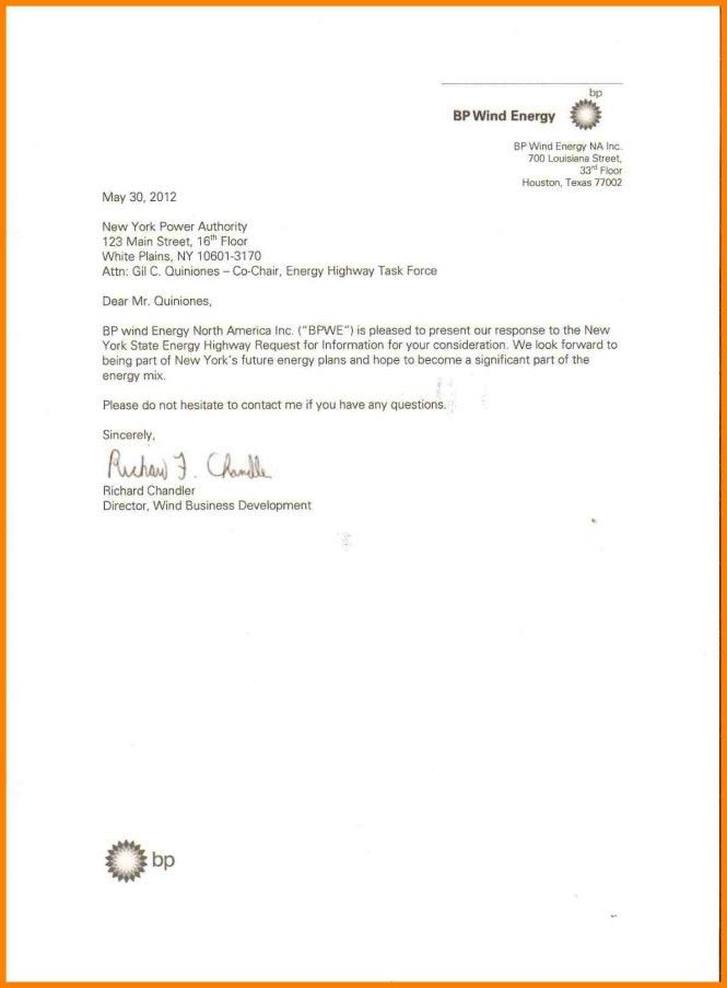 Business Letter For Quotation Request - Cover Letter Sample
