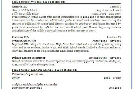 music teacher resume examples teacher resume sample page 1
