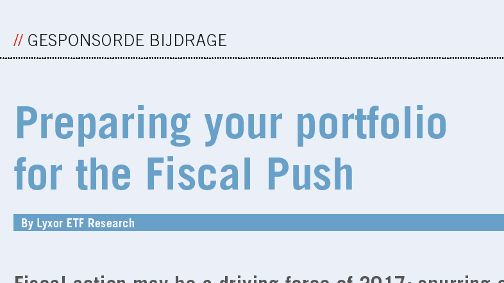 Lyxor ETFs - Financial Investigator: Preparing your portfolio for ...