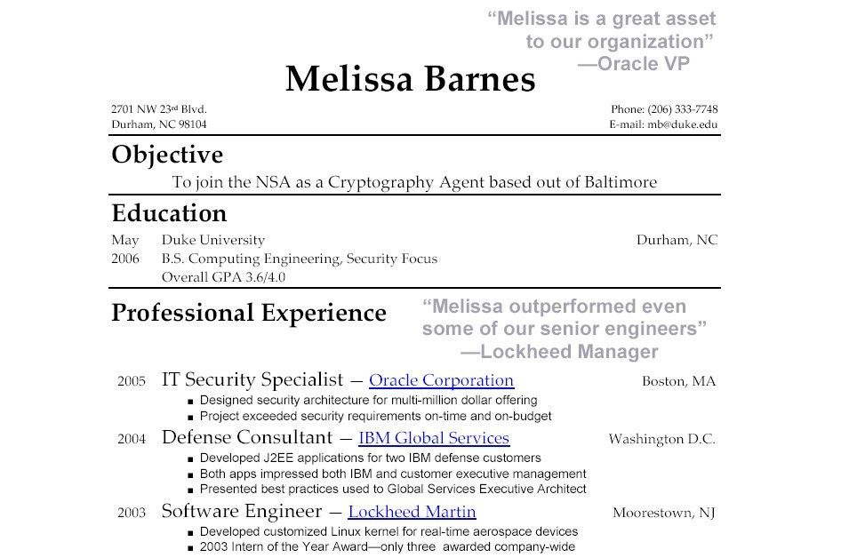 examples of resumes example resumes for jobs without experience ...