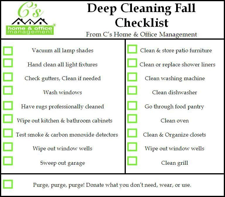 Sample House Cleaning Checklist. Daily House Cleaning Checklist ...