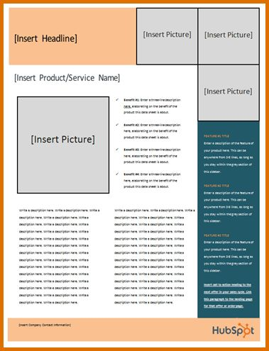 fact sheet template microsoft wordReference Letters Words ...