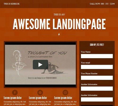 35+ Premium Landing Page Templates