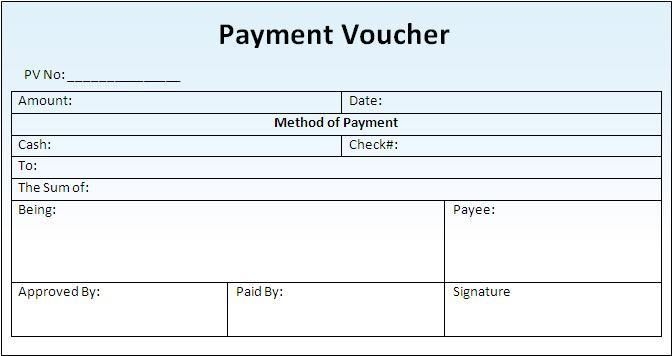 How To Make Vouchers How To Make A Payment Voucher 5 Steps With – Payment Vouchers Template