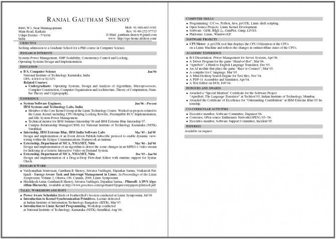 Valuable Inspiration 2 Page Resume Format 12 Two Template - CV ...