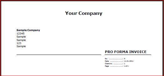 How to create a Proforma Invoice - Reviso Online Help
