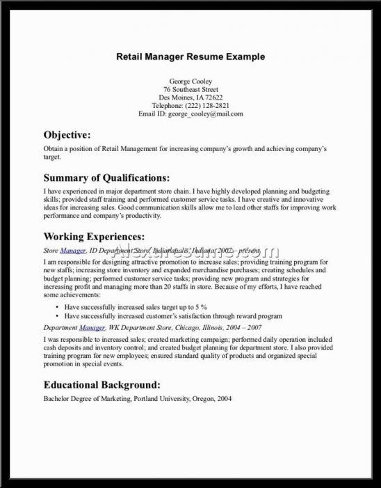retail sales associate resume description sales associate resume ...