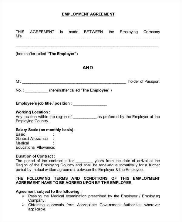 When Is An Employment Contract Necessary. Apso Co Za 44 Contract ...