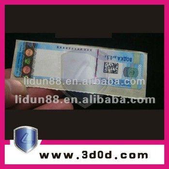 Anti-fake Security Watermark Coupon Ticket Booklet Print Maker ...