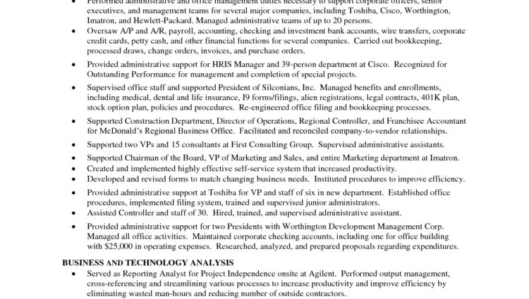 Dental Office Manager Resume Sample professional background and ...