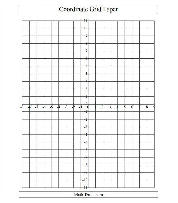 Sample Cartesian Graph Paper - 5+ Documents In PDF