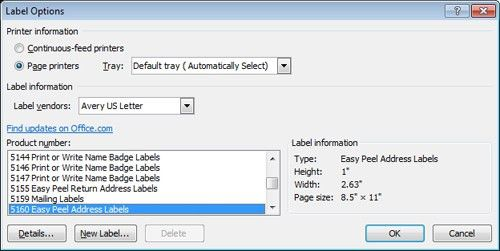 SKILCRAFT Label Formatting Tips