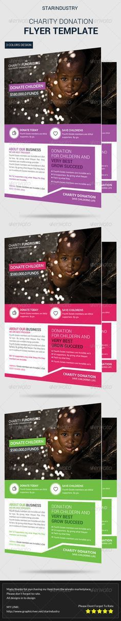 Hope4Life Charity Event Flyer Template | Event flyer templates ...