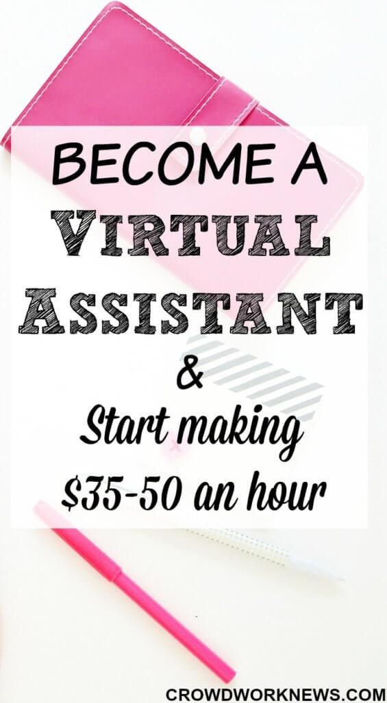Become A Virtual Assistant and Make $35-50 An Hour | Virtual ...
