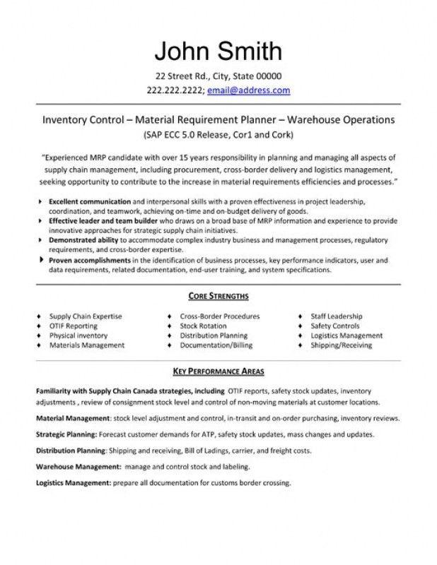 logistics coordinator resume objective corpedocom - Safety Coordinator Resume