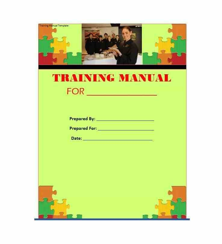 Free Training Manual Templates. sample accounting policies and ...