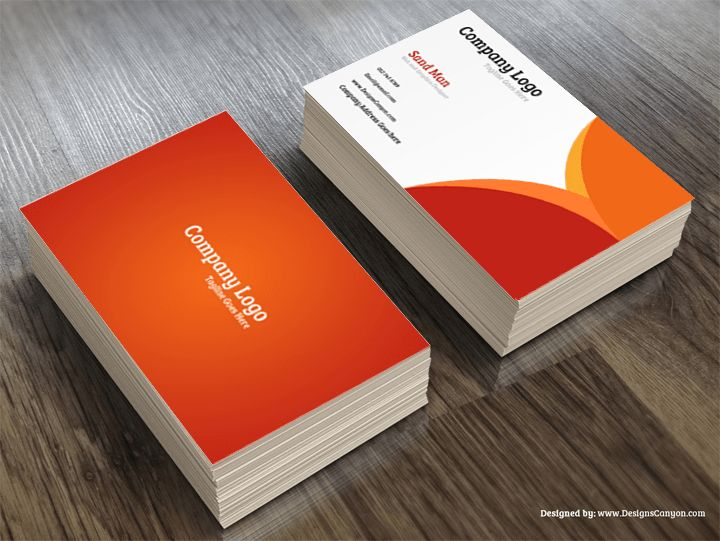 Creative PSD Business Card Template Free Download | Designs Canyon ...