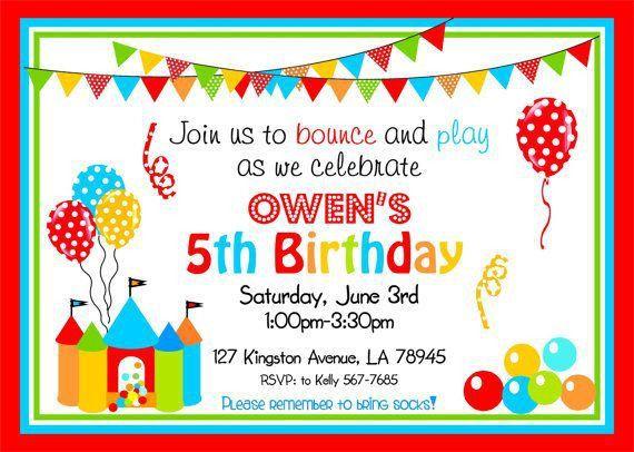 Birthday Invitation Templates Free Download | DolanPedia ...