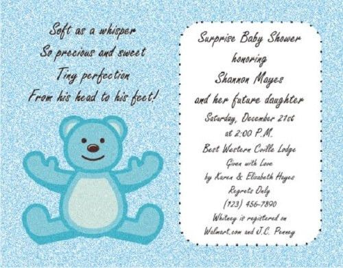 Tips to write Baby Shower Invitation Wording Templates ...