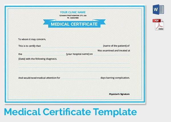 Medical Certificate Template Download   state-and-lxonjg.allru.biz