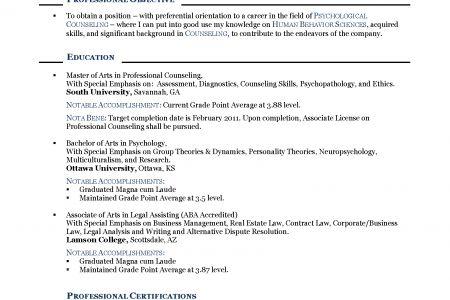 job objective resume 18 sample resume objectives free sample photo ...
