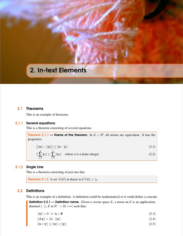 LaTeX Templates » The Legrand Orange Book