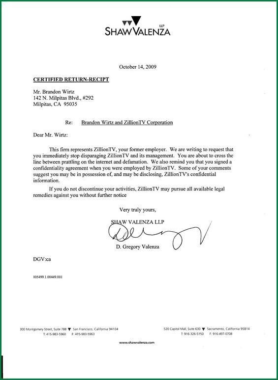 Sample Cease And Desist 7 Documents In Pdf Word 33 [Template ...