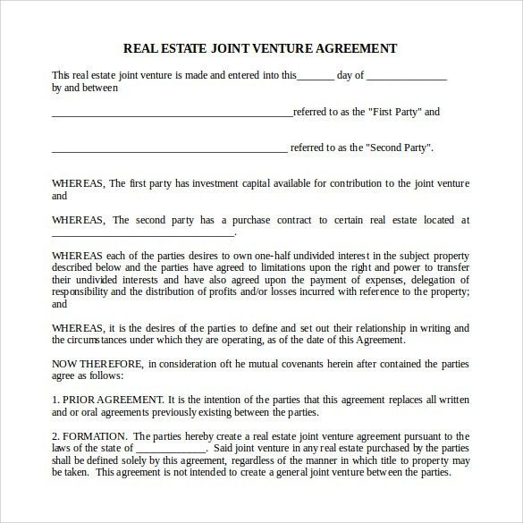 Real Estate Agreements | Samples and Templates