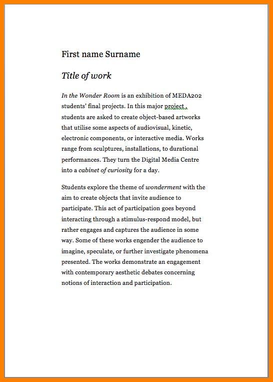 12+ artist statement examples | Statement Information