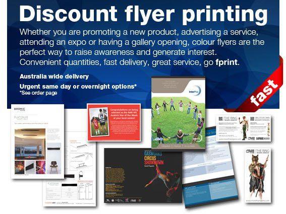 Flyer Printing, Brochure Printing, Postcard Printing