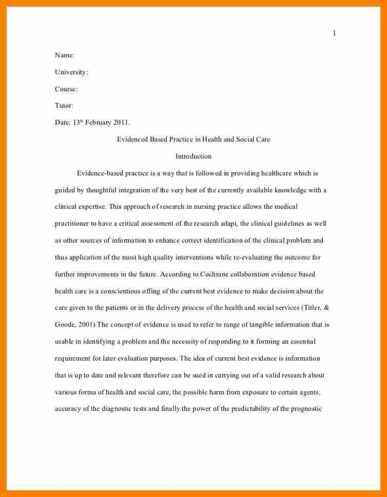 Research Article Critique Example Apa.harvard Style Research Paper ...