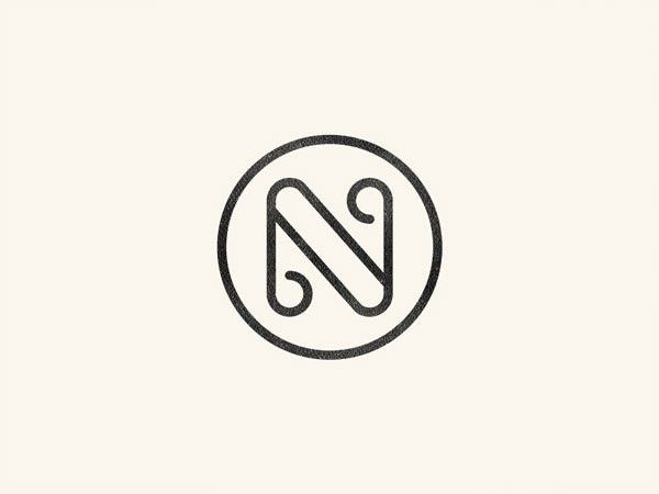 A collection of inspiring line-based logos | Logos examples, Logos ...