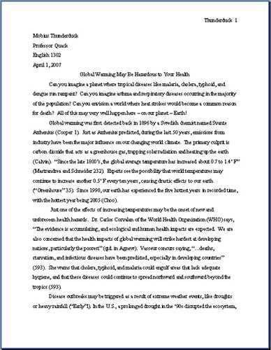 examples of a thesis statement in an essay. here we have two brief ...