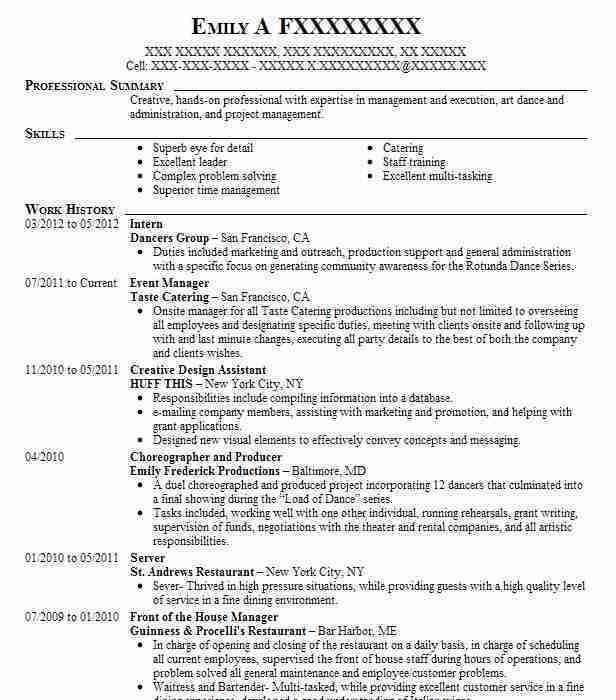 Best Training Internship Resume Example | LiveCareer