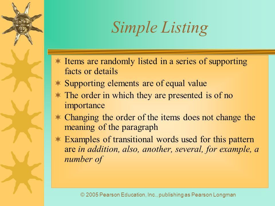 Chapter 5: Patterns of Organization - ppt video online download