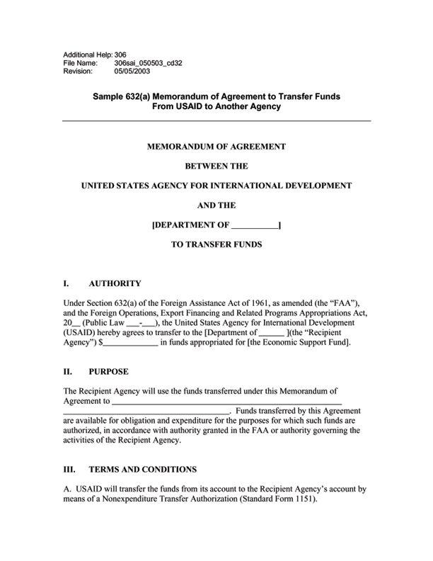 ADS Reference 306sai | U.S. Agency for International Development